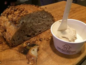 Walnut and star anise - lovely in both bread and gelato!