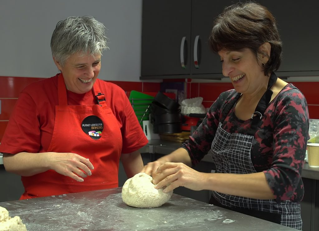 bread training with Planet Leicester Bakers