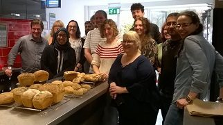 Team building with bread
