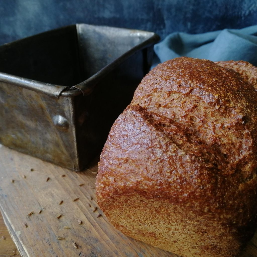 American Jewish sweet rye loaf (Photo: with thanks to Joan Ransley)