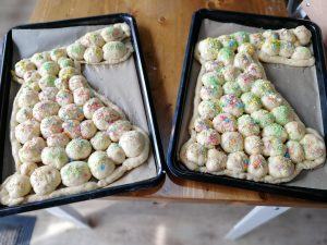 unbaked Easter bunnies