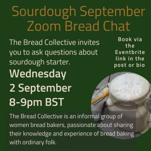 Details about the next Bread Chat from the Bread Collective
