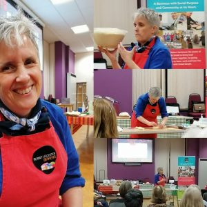 Images from the WI talk at Hinckley Canalside
